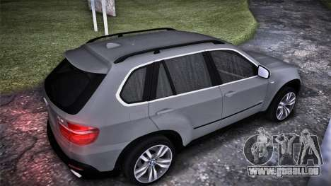 BMW X5 E70 für GTA San Andreas linke Ansicht