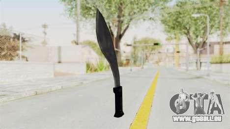 Liberty City Stories - Machete für GTA San Andreas