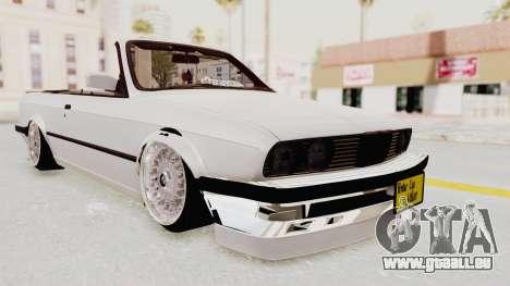 BMW 316i E30 pour GTA San Andreas vue de droite