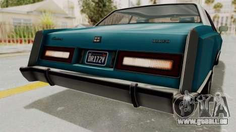 GTA 5 Dundreary Virgo Classic Custom v3 IVF für GTA San Andreas Innen