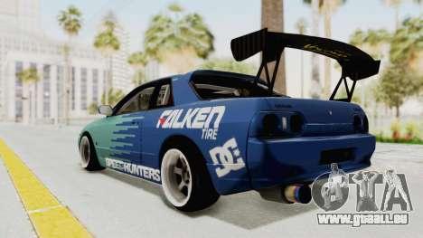 Nissan Skyline R32 Drift Falken pour GTA San Andreas laissé vue