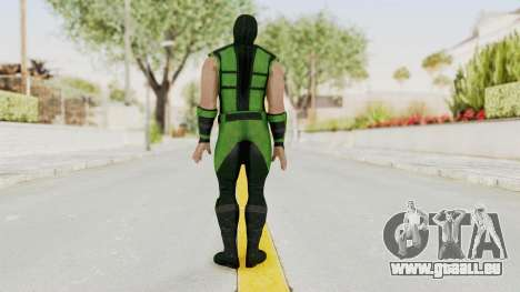 Mortal Kombat X Klassic Human Reptile für GTA San Andreas dritten Screenshot