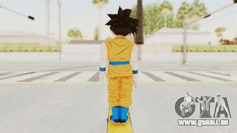 Dragon Ball Xenoverse Gohan Teen DBS SJ v2 pour GTA San Andreas troisième écran