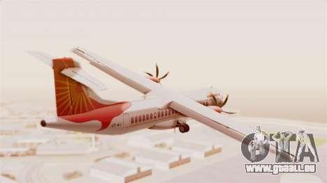 ATR 72-600 Air India Regional für GTA San Andreas rechten Ansicht