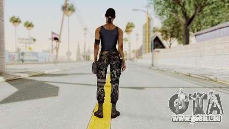 Mortal Kombat X Jacqui Briggs Boot Camp pour GTA San Andreas troisième écran