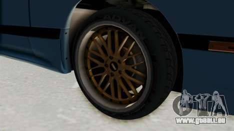 Mazda RX-7 FC3S für GTA San Andreas Rückansicht