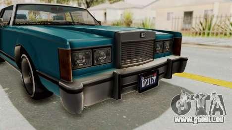 GTA 5 Dundreary Virgo Classic Custom v3 IVF pour GTA San Andreas vue de côté