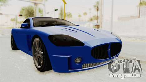 GTA 5 Ocelot F620 IVF für GTA San Andreas