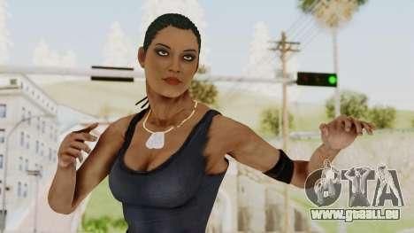 Mortal Kombat X Jacqui Briggs Boot Camp pour GTA San Andreas