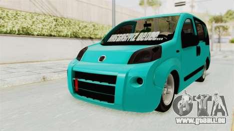 Fiat Fiorino v2 pour GTA San Andreas vue de droite