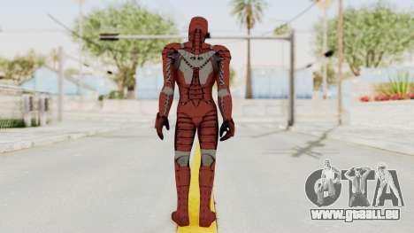 Marvel Heroes - Iron Man (Mk5) pour GTA San Andreas troisième écran