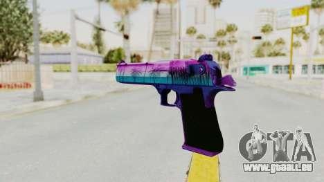Vice Desert Eagle für GTA San Andreas zweiten Screenshot