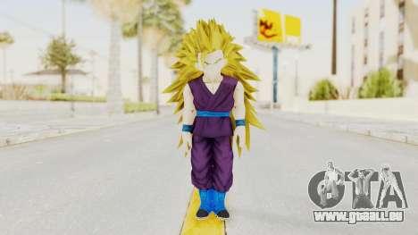 Dragon Ball Xenoverse Gohan Teen DBS SSJ3 v1 pour GTA San Andreas deuxième écran