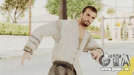 AC Brotherhood - Ezio Auditore Short Hair Civil pour GTA San Andreas