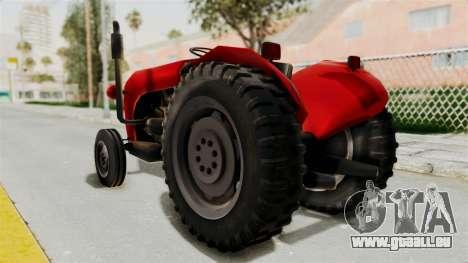 IMT 533 pour GTA San Andreas laissé vue