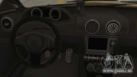 GTA 5 Ocelot F620 SA Lights pour GTA San Andreas vue intérieure