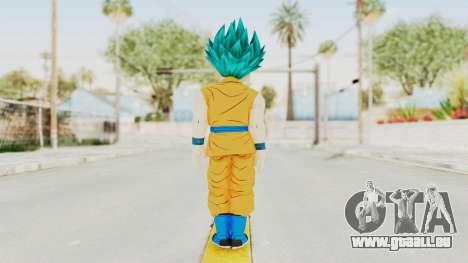 Dragon Ball Xenoverse Gohan Teen DBS SSGSS2 v2 für GTA San Andreas dritten Screenshot