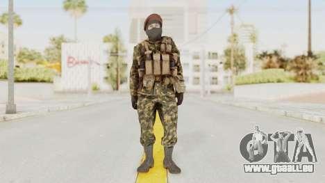 COD Black Ops Russian Spetznaz v4 für GTA San Andreas zweiten Screenshot