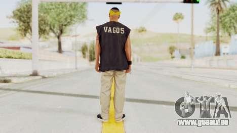 GTA 5 Los Santos Vagos Member 1 für GTA San Andreas dritten Screenshot