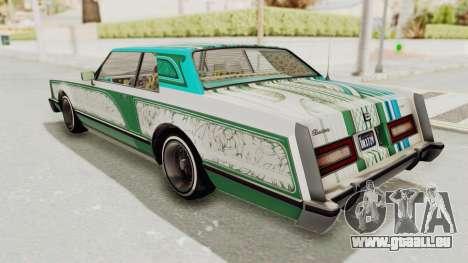GTA 5 Dundreary Virgo Classic Custom v3 IVF für GTA San Andreas