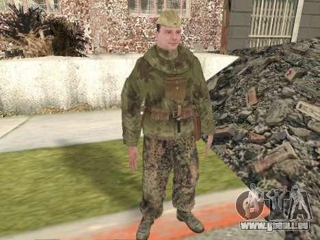 Pak combattants de l'armée rouge pour GTA San Andreas