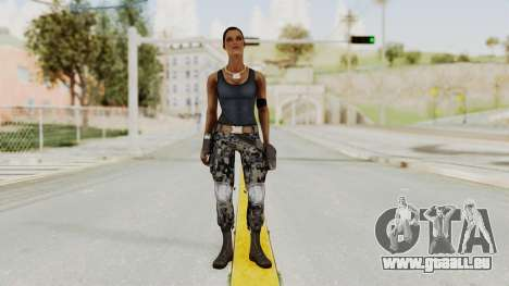 Mortal Kombat X Jacqui Briggs Boot Camp für GTA San Andreas zweiten Screenshot