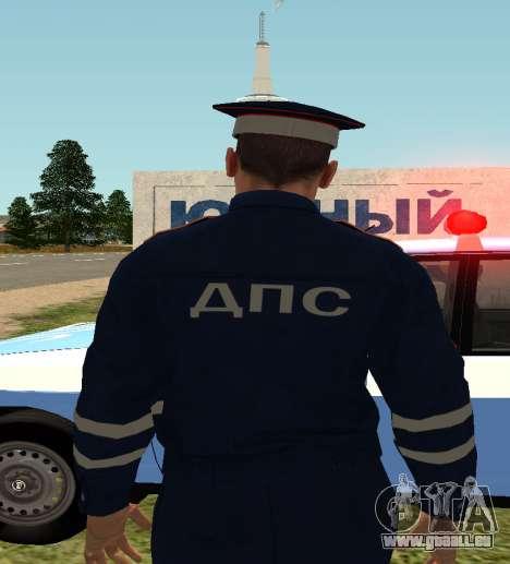 Sergeant DPS pour GTA San Andreas deuxième écran
