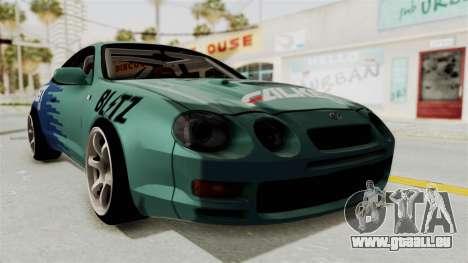 Toyota Celica GT Drift Falken für GTA San Andreas rechten Ansicht
