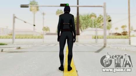 Batman Arkham Origins - Lady Shiva für GTA San Andreas dritten Screenshot