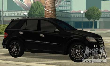 Mercedes-Benz ML 63 AMG für GTA San Andreas linke Ansicht