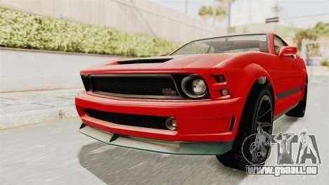 GTA 5 Vapid Dominator v2 SA Lights für GTA San Andreas rechten Ansicht
