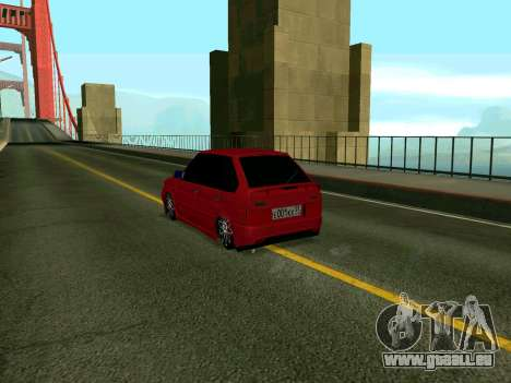 VAZ 2114 KBR für GTA San Andreas linke Ansicht