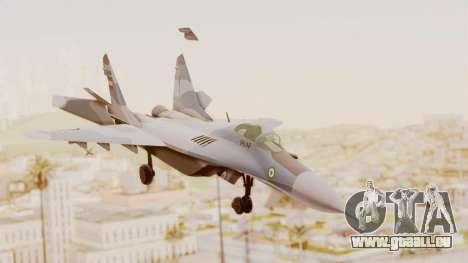 MIG-29A IRIAF pour GTA San Andreas