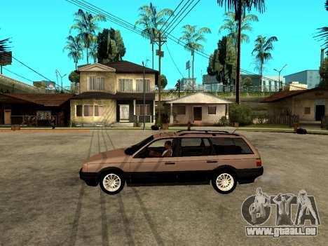 Volkswagen Passat B3 Variant pour GTA San Andreas laissé vue