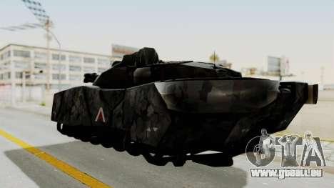 T-470 Hover Tank für GTA San Andreas linke Ansicht
