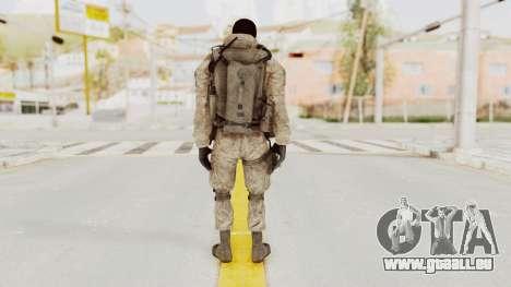 COD MW2 Shadow Company Soldier 3 pour GTA San Andreas troisième écran