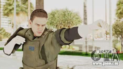 MGSV Ground Zeroes MSF Medic pour GTA San Andreas