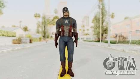 Captain America Civil War - Captain America pour GTA San Andreas deuxième écran