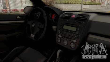 Volkswagen Golf MK5 JDM für GTA San Andreas Innenansicht