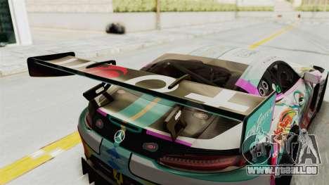 Mercedes-Benz SLS AMG GT3 2016 Goodsmile Racing pour GTA San Andreas vue de côté