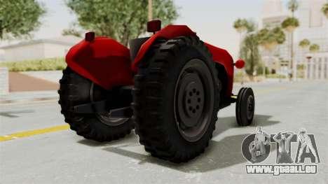 IMT 533 pour GTA San Andreas sur la vue arrière gauche