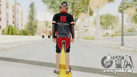 GTA 5 Cyclist 3 pour GTA San Andreas troisième écran