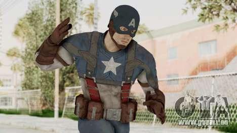 Captain America Civil War - Captain America pour GTA San Andreas