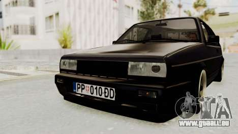 Volkswagen Golf 2 VR6 pour GTA San Andreas