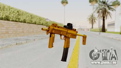 MP7A1 Gold für GTA San Andreas zweiten Screenshot