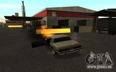 Flip machine pour GTA San Andreas quatrième écran