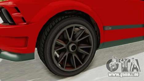 GTA 5 Vapid Dominator v2 SA Lights für GTA San Andreas Rückansicht