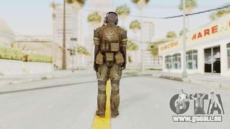 MGSV Phantom Pain Wandering MSF pour GTA San Andreas troisième écran