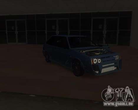 VAZ 2108 für GTA San Andreas Seitenansicht