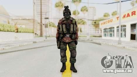 Battery Online Russian Soldier 8 v1 pour GTA San Andreas deuxième écran